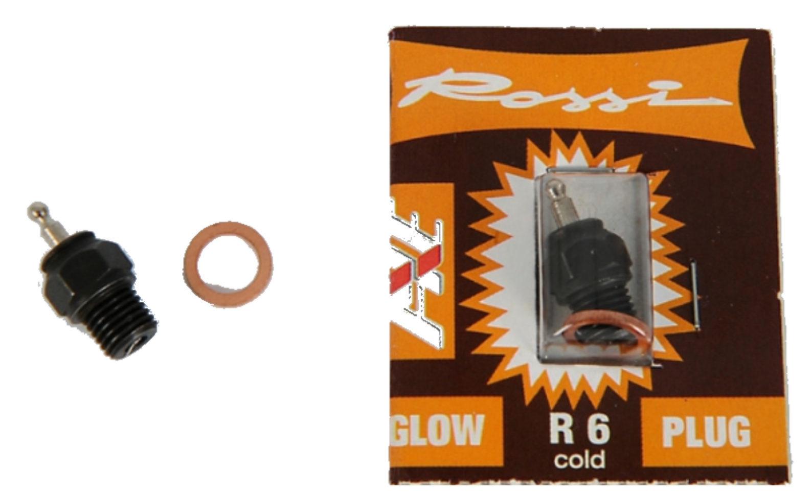 ROSSI R6 kalt Glühkerze - RC Nitro Motor Zubehör 905010
