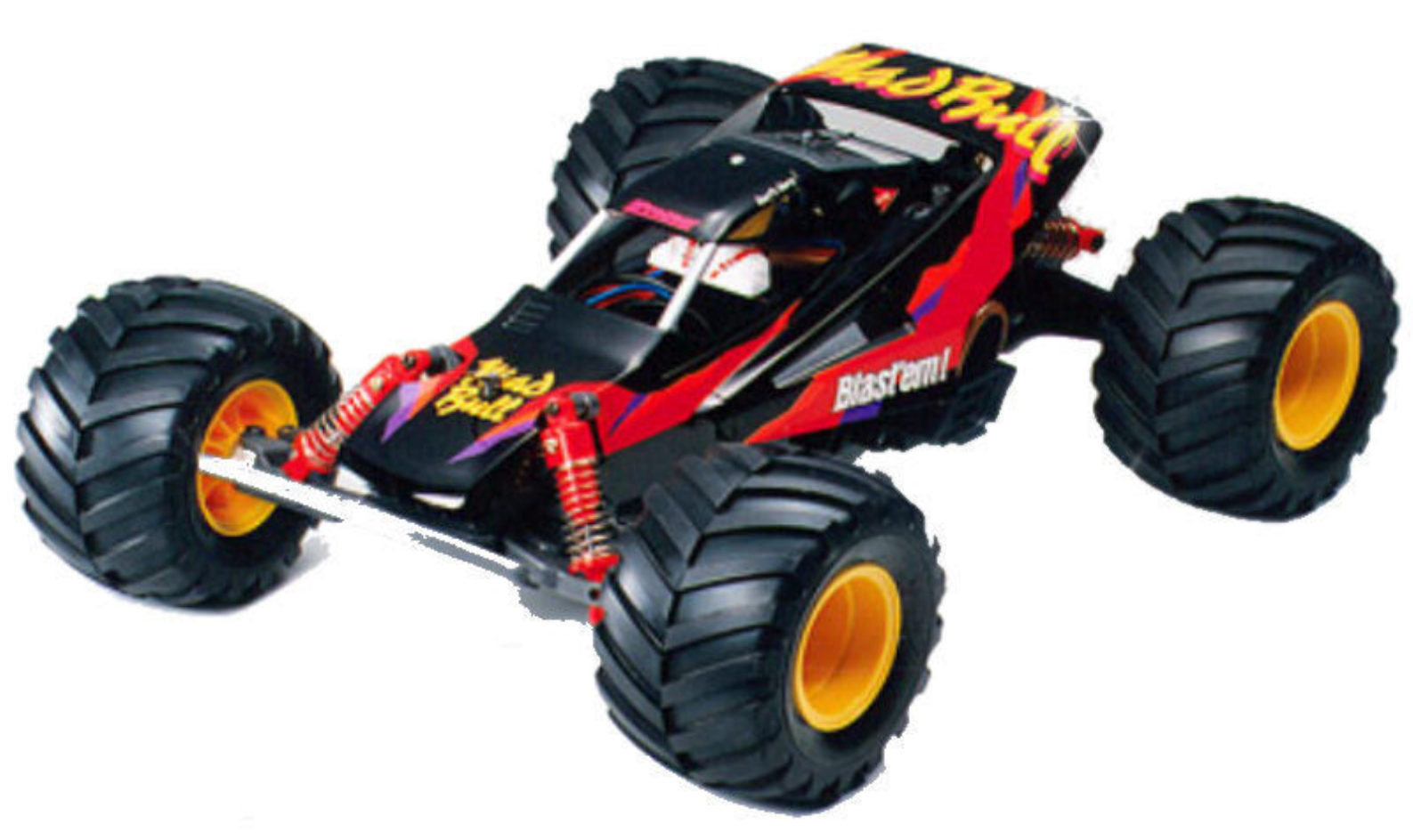 tamiya mad bull 2wd monster rc buggy elektro 1 10 58205. Black Bedroom Furniture Sets. Home Design Ideas