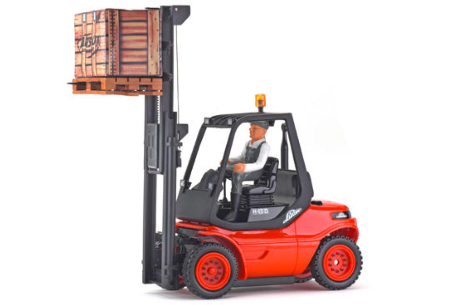 carson rc gabelstapler linde h40d rtr 2 4ghz 500907093. Black Bedroom Furniture Sets. Home Design Ideas