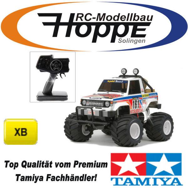 tamiya xb mitsubishi montero wheelie 2,4 ghz 57831