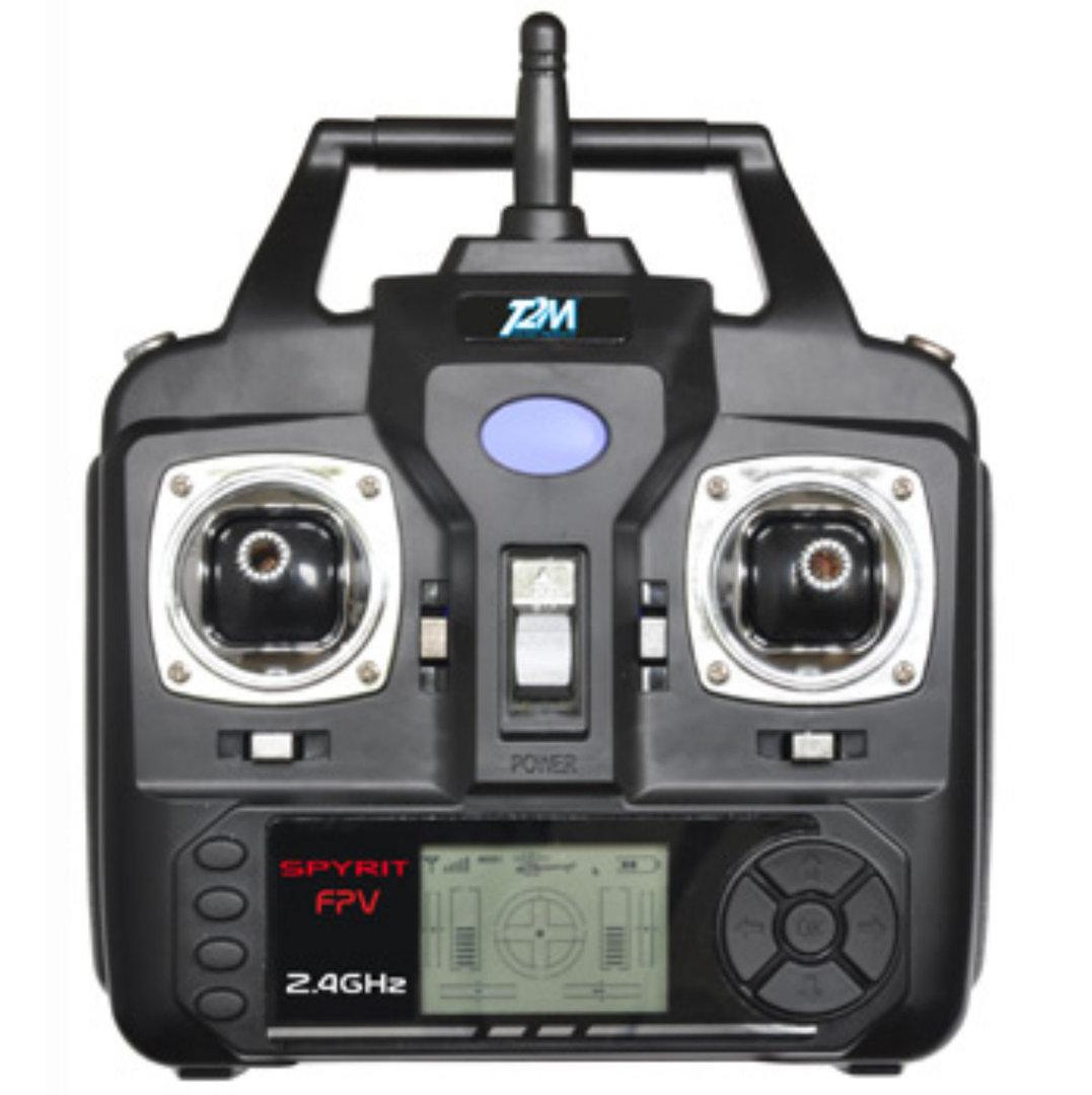 t2m spyrit fpv quadrocopter mit kamera 5 kanal drohne fpv copter t5166. Black Bedroom Furniture Sets. Home Design Ideas