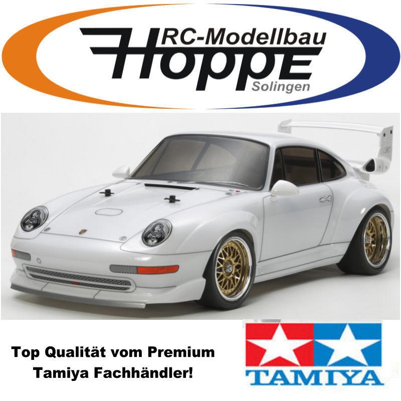 tamiya 1 10 rc porsche 911gt2 club sport ta02sw bausatz kit 300084399. Black Bedroom Furniture Sets. Home Design Ideas
