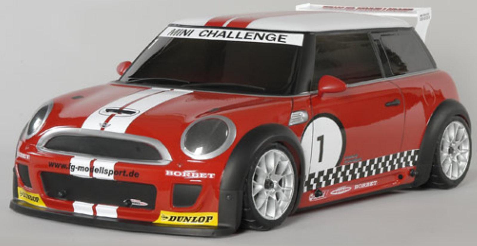 fg modellsport 4wd 510 rtr chassis trophy rot karosserie. Black Bedroom Furniture Sets. Home Design Ideas