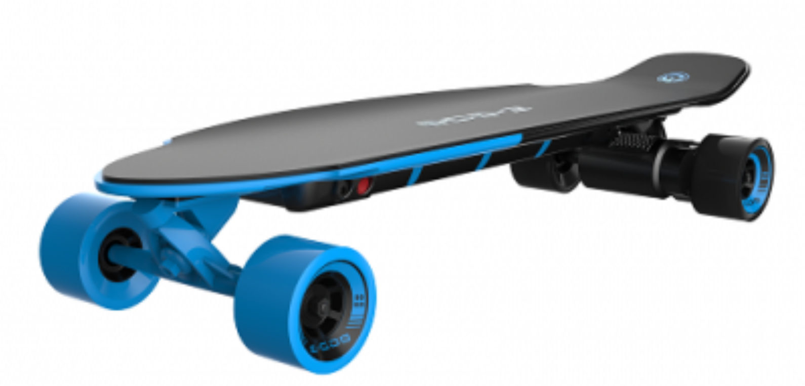 yuneec e go 2 elektro skateboard long board royal wave blau. Black Bedroom Furniture Sets. Home Design Ideas