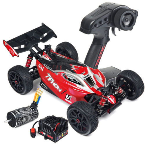 Arrma Typhon 6S 4WD BLX 1-8 Buggy RTR rot schwarz AR106013 Modell 2017
