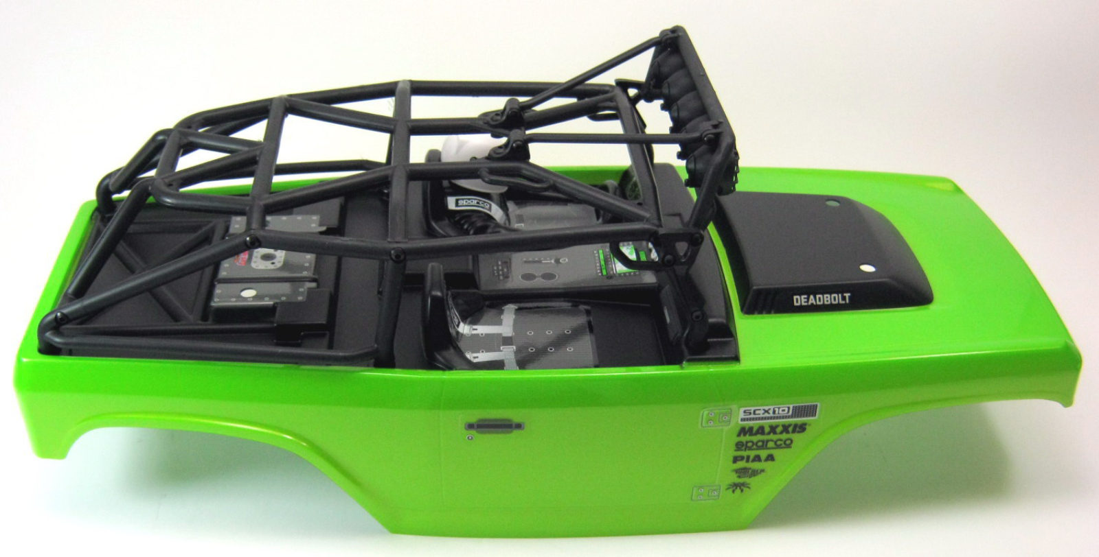 axial scx10 deadbolt 4wd scale truck karosserie fertig. Black Bedroom Furniture Sets. Home Design Ideas
