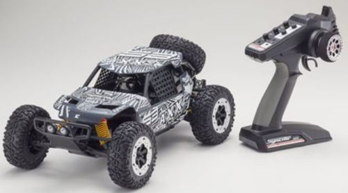 Kyosho AXXE 1-10 EP Buggy KT231P T4 GRAU RTR 34401T4B
