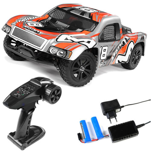 Ishima Madox 1-12 RTR 4WD Short Course Truck 2,4 Ghz silber orange ISH-013
