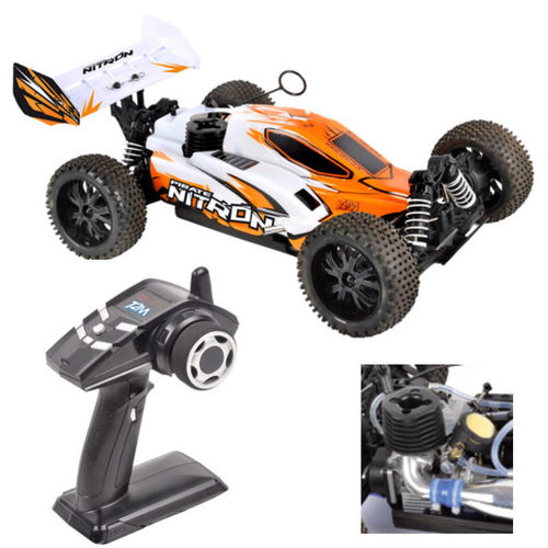 T2M Pirate Nitron 4 WD 1-10 Verbrenner Buggy 2,4 GHz RTR orange T4926