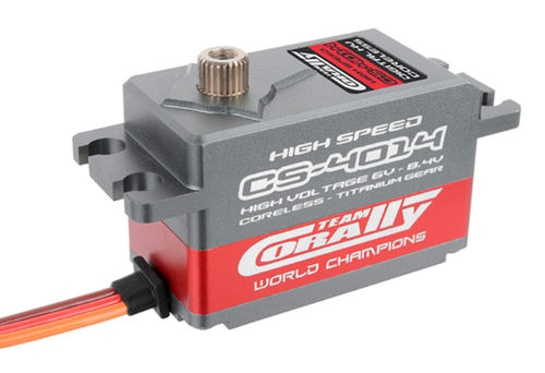 Team Corally CS-4014 HV High Speed Low CG Servo bei 8,4 V 14,0 kg 0,07 s