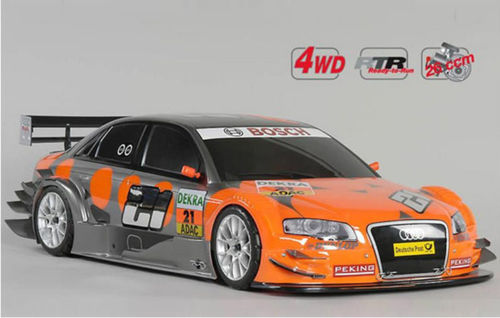 FG Modellsport RTR 4WD 530 chassis + Albers Audi lackiert inkl Fernsteuerung