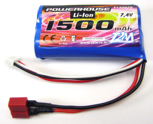 Powerhouse Akku 1500 mAh Li-Ion 7,4 V T4928-22