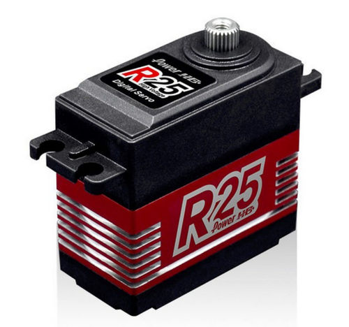 Servo Power HD / Kyosho Digital R25 Metallgetriebe 7,4 V 25 KG/ 0,11 Sek. HD-R25