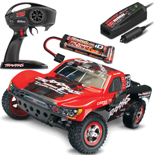 Traxxas Slash RTR 1-10 2,4 GHz Short Course Truck Rot TRX58034-1