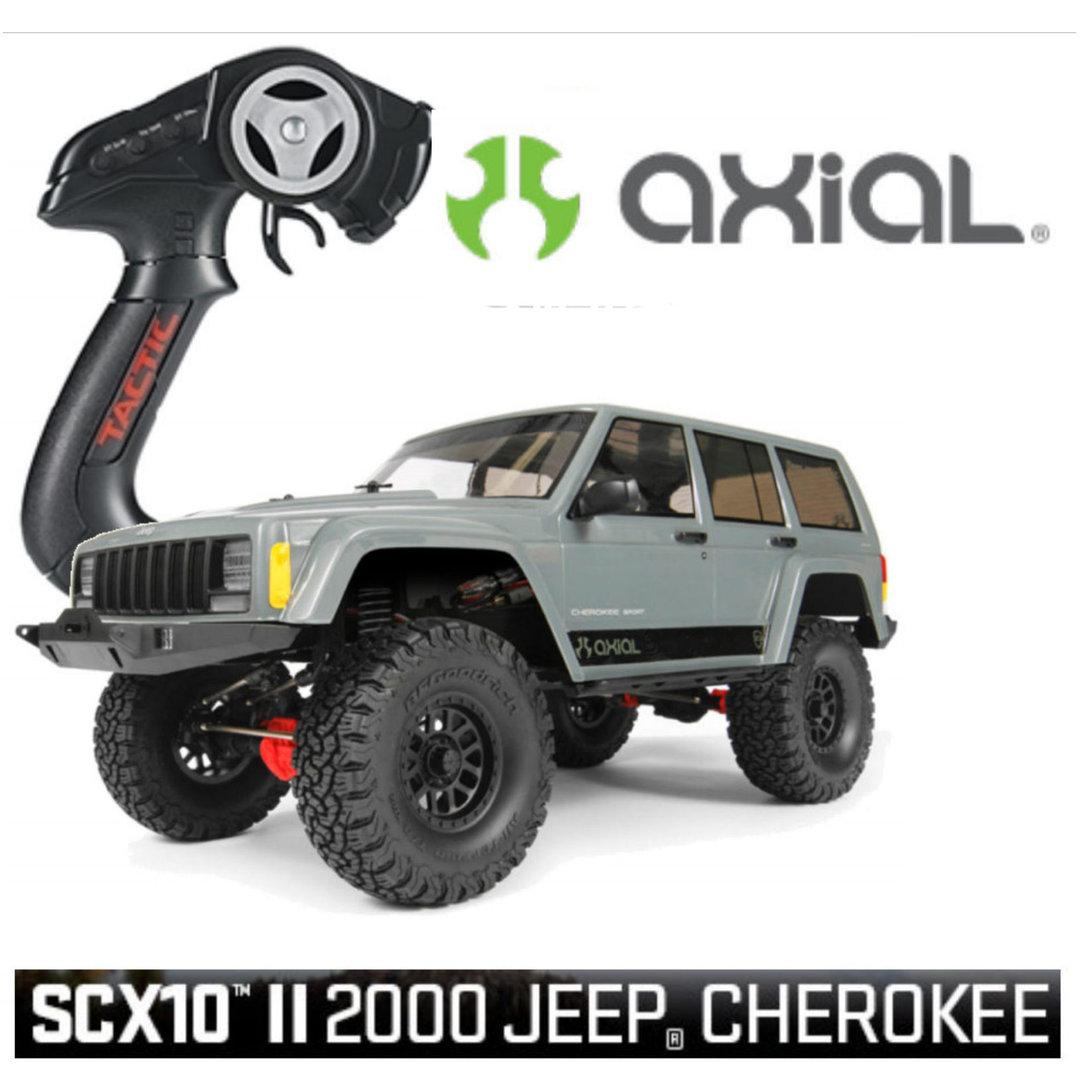 Axial Scx10 2 Jeep Cherokee – mechaniker