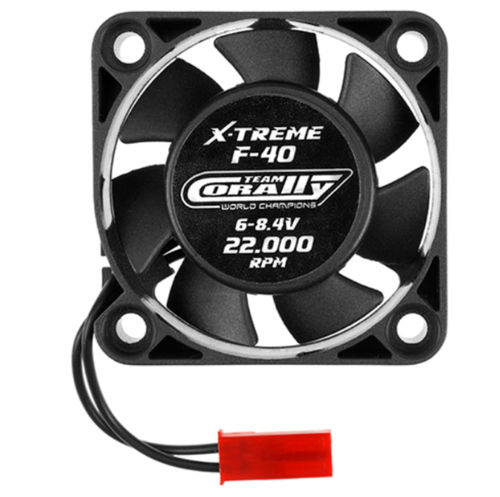 Team Corally C-53103 ESC Ultra High Speed Cooling Fan 40mm  6v-8,4V BEC