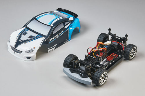 Dromida - Dromida 1-18 Touring Car Brushless RTR 2.4GHz blau DIDC0074