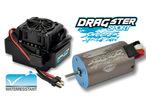 Carson 500906159 Brushless Set DRAGSTER SPORT RTR 14T Waterprof