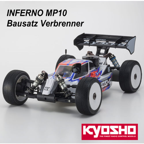 Kyosho Kit - Bausatz Verbrenner Buggy INFERNO MP10 1:8 GP 4WD / K.33015B