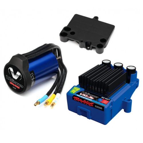 Velineon TRX3350R VXL-3S waterproof + 3500 Brushless Power Set Regler + Motor