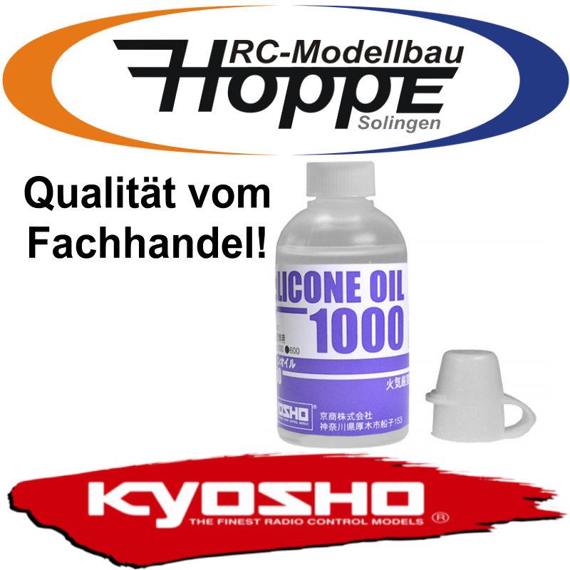 KYOSHO Silikonöl Öl 1000cps RC Tuning Zubehör SIL1000