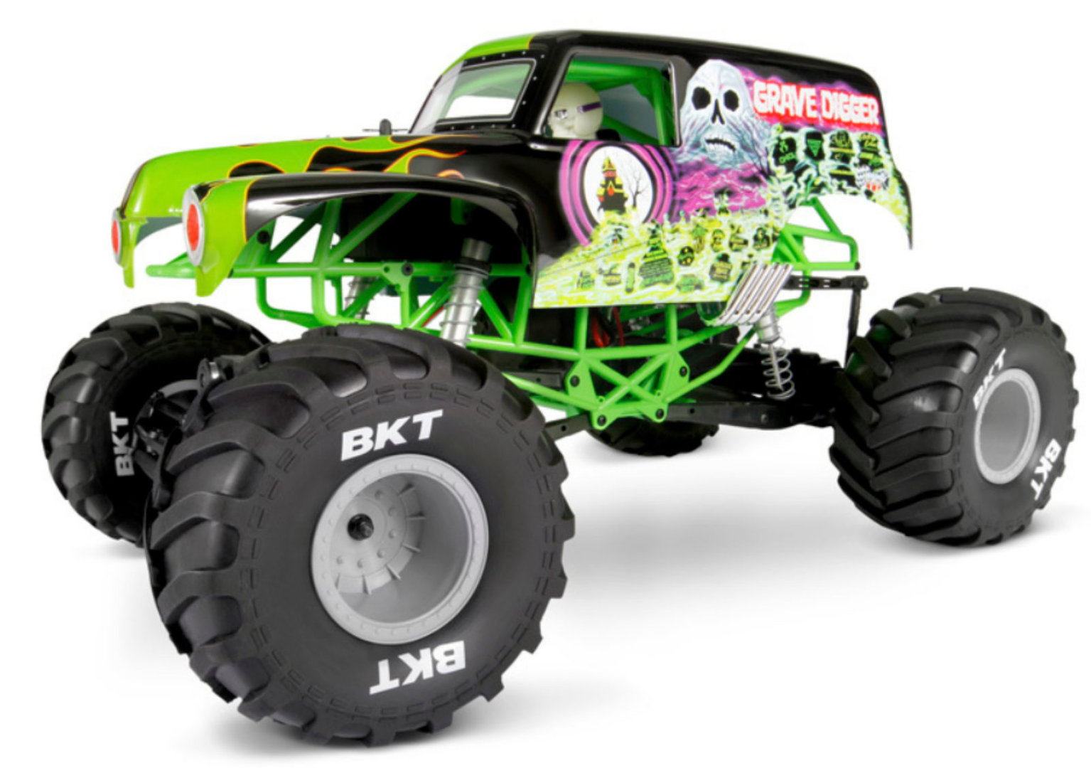 Axial SMT10 Grave Digger Monster Jam Truck 1-10 Electric