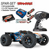 Traxxas E-Revo Brushless Monster Truck Orange SPAR SET Akkus + Lader