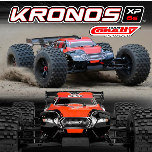 Team Corally Kronos XP 6S 1/8 Monster Truck LWB RTR Brushless Power 6S ohne Akku und Ladegerät