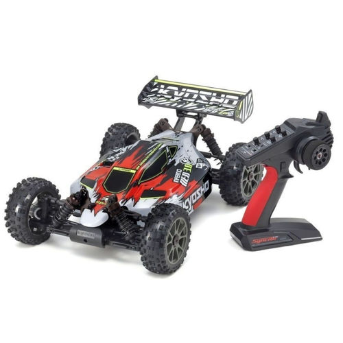 Kyosho 34108T2B Inferno Neo 3.0 VE 1-8 RC Brushless EP RTR Rot